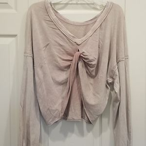FREE PEOPLE BEAUTIFUL BACKLESS TOP XS NWT